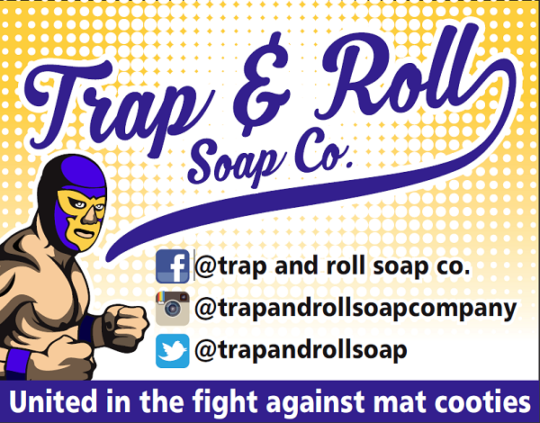 Trap & roll soap